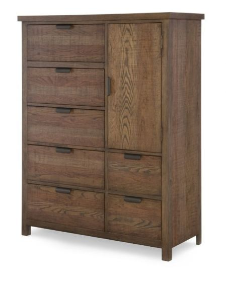 Fulton County Door Chest In Tawny Brown