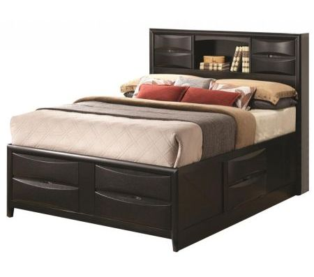 fingerhut bedroom furniture contemporary storage bed with bookshelf 11541