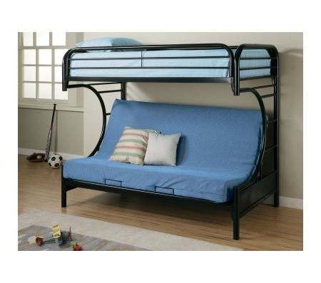 Fordham C Style Twin Over Full Futon Bunk Bed Bunk Beds
