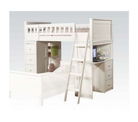 Willoughby Ginny S Loft Bed In White Baby Amp Kids