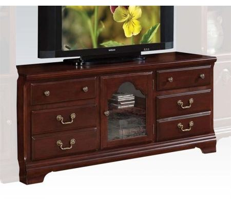 Hercules Tv Stand In Cherry Entertainment Centers