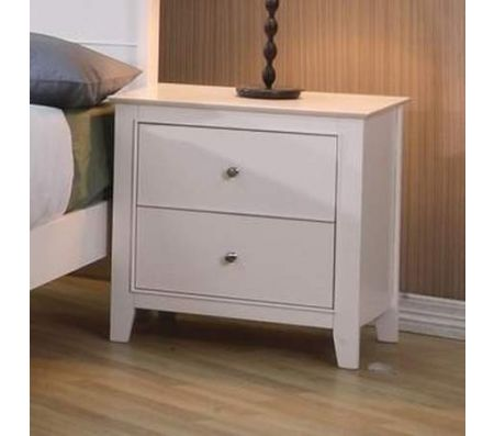 fingerhut bedroom furniture selena 2 drawer nightstand 11541