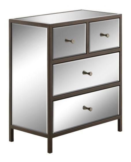 Marquis Cabinet in Mirrored
