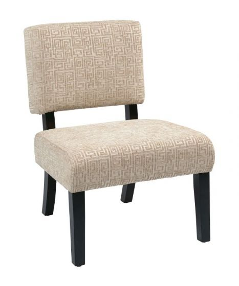 Jasmine Accent Chair in Oyster