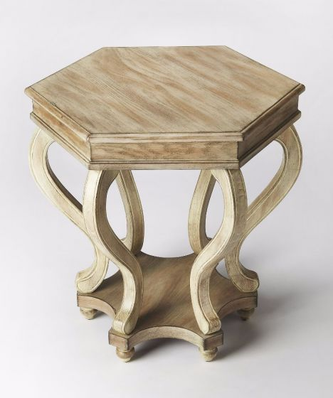 Margaret Driftwood Accent Table