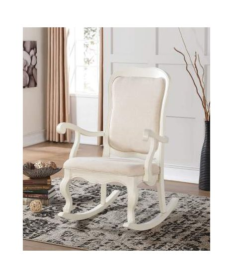 Sharan Rocking Ginny's Chair in white