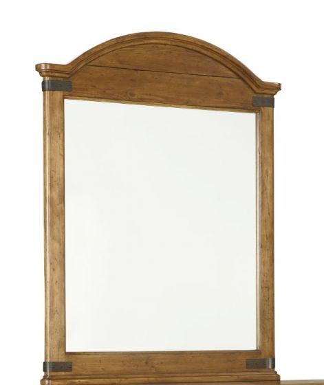 Bryce Canyon Arched Mirror In Heirloom Pine