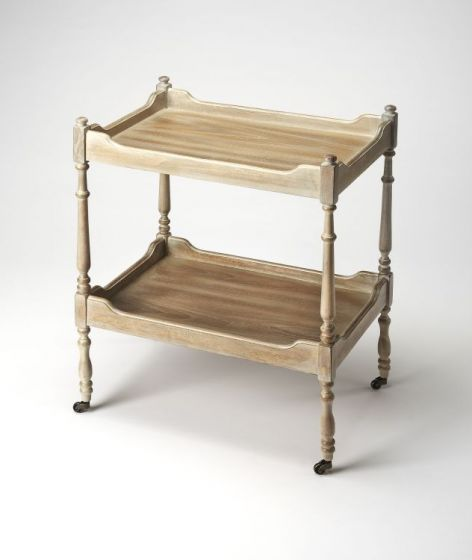 Rayburn Driftwood Serving Cart