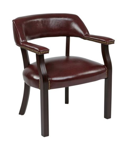 Traditional Guest Chair in Mahogany