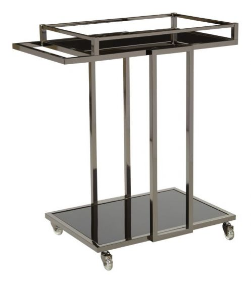 Angela Serving Cart in Grey