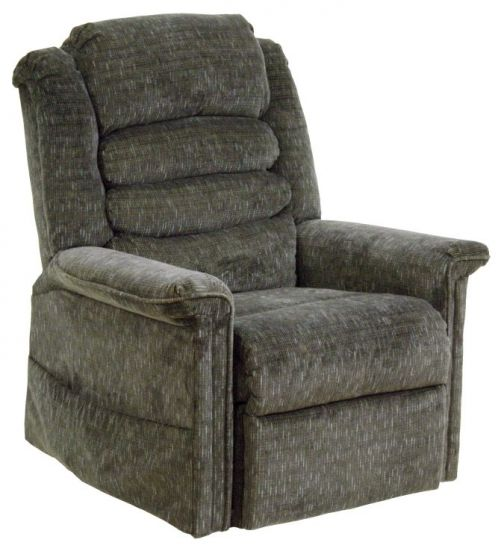 Full Lay-Out Chaise Recliner w/Heat & Massage in Woodland