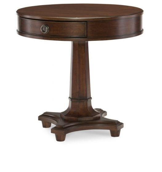 Upstate Round Lamp Table In Conciare