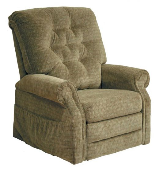 Patriot Power Lift Full Lay-Out Recliner in Celery