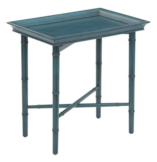 Salem Folding Serving Tray in Blue