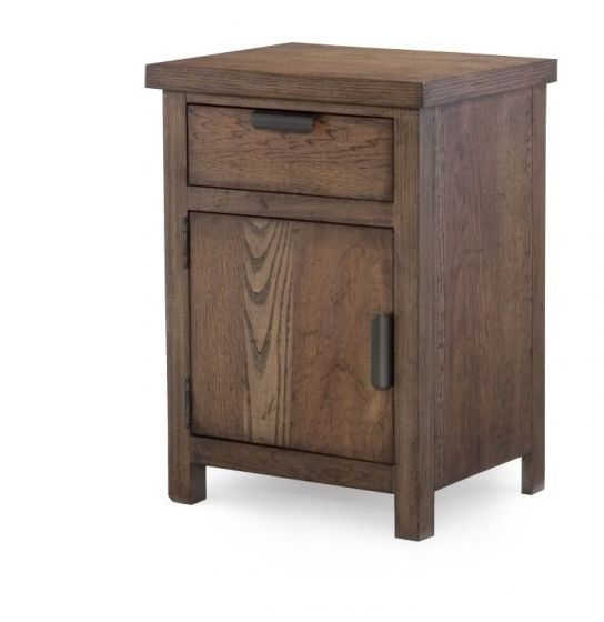 Fulton County Night Stand In Tawny Brown