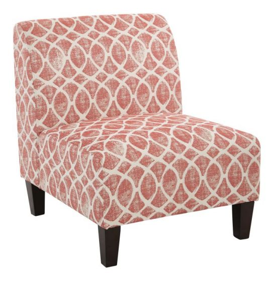 Magnolia Chair in Mist Geo Brick