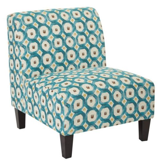 Magnolia Chair in Geo Dot Teal