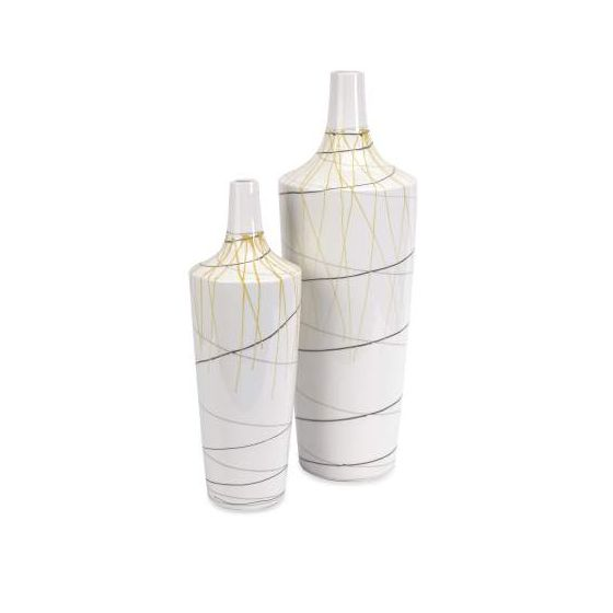 Curasso Retro Finish Vases