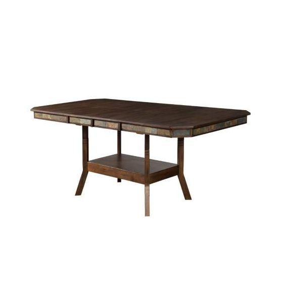 Double Butterfly Left Facing Dining Table