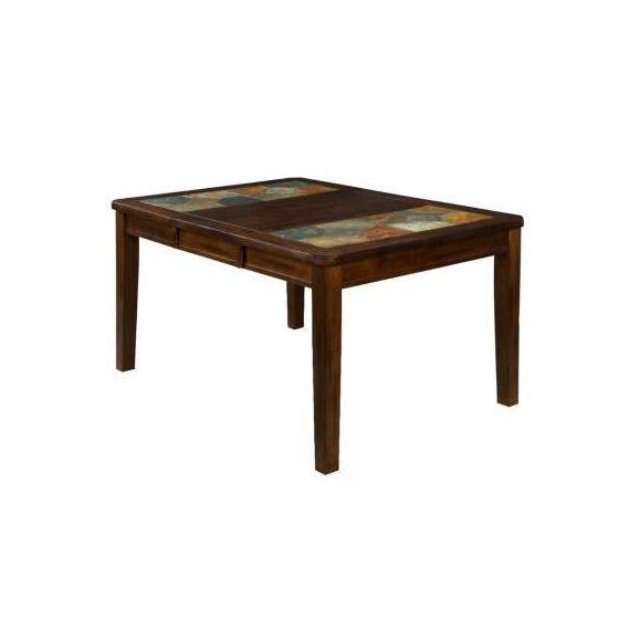 Santa Fe Extension Table with Slate Top