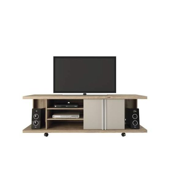 Carnegie TV Stand in Nature and Nude