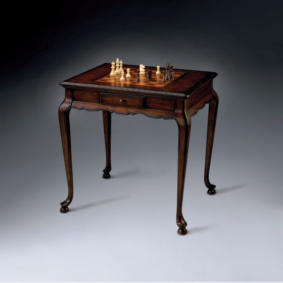 Bannockburn Plantation Cherry Game Table
