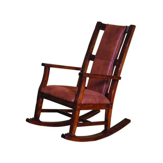 Rocker with Cushion Seat and Back