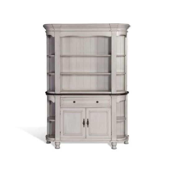 French Country Hutch and Buffet