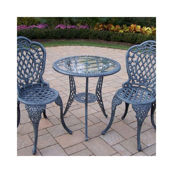 Mississippi Bistro 3 Piece Set W/ Table And 2 Chair