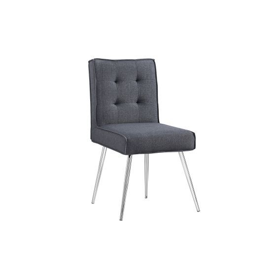 Astra Accent Chair in Dark Gray