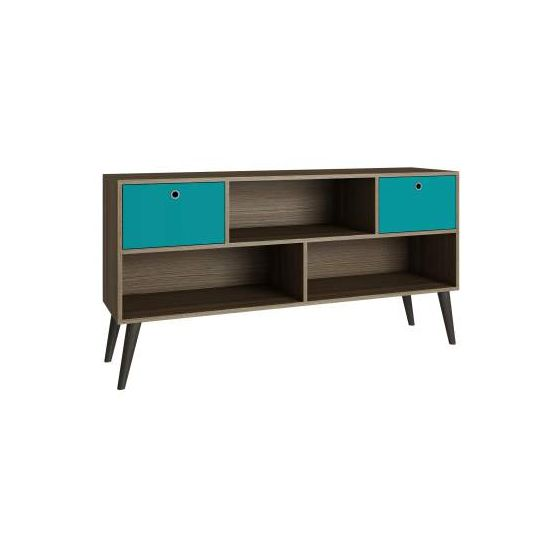 Modern Uppsala TV Stand with 3- Shelves and 2- Drawers