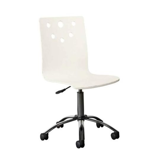 Smiling Hill Desk Chair in Marshmallow