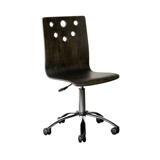 Smiling Hill Desk Chair in Licorice