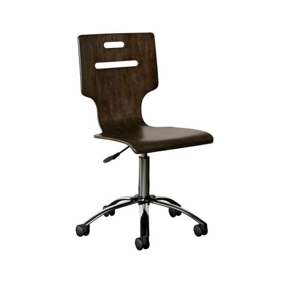 Chelsea Square Desk Chair in Raisin