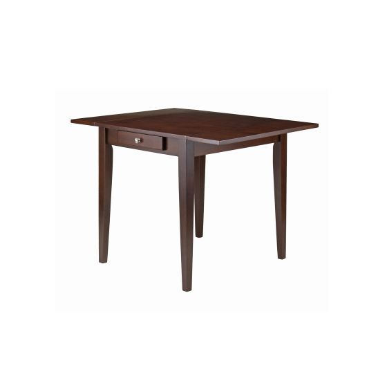Hamilton Double Drop Leaf Extendable Dining Table in Walnut