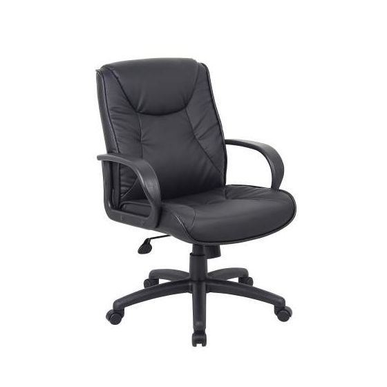 Office ChairsatWork High Back in Black