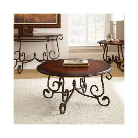 Crowley Cherry End Table