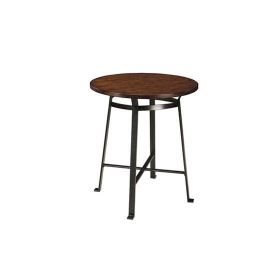 Challiman Round Dining Room Counter Table
