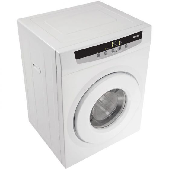 FRONT LOAD DRYER, SS DRUM, 4 DRYING PROGRAMS, VENTED - WHITE