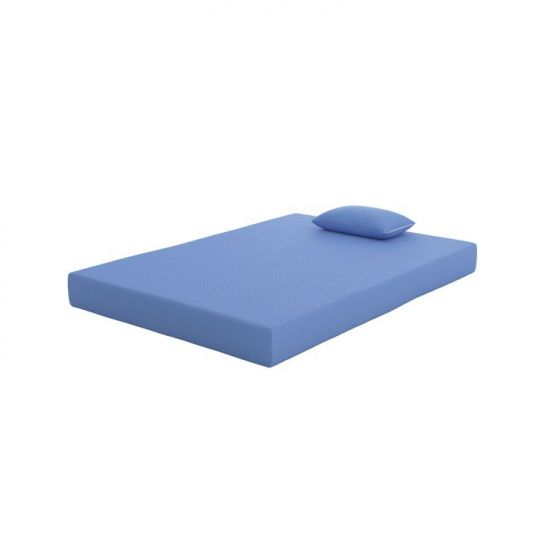 iKidz Blue Full Mattress and Pillow