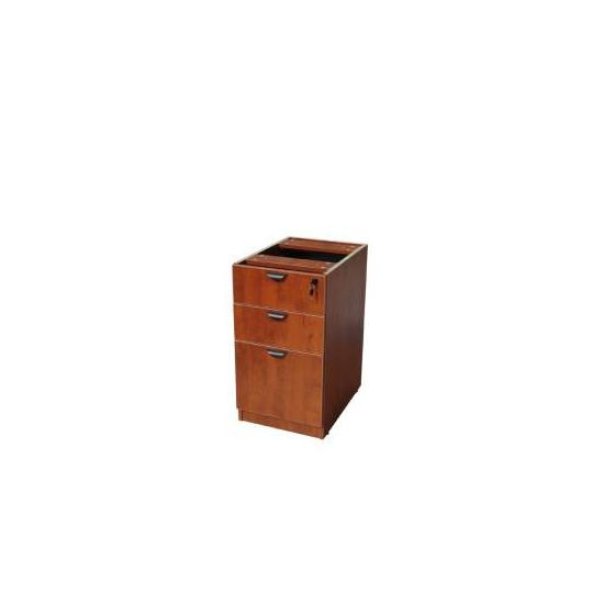 Deluxe Pedestal Filing Cabinet in Cherry