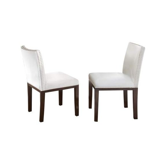 Tiffany Dining Side Chair in White