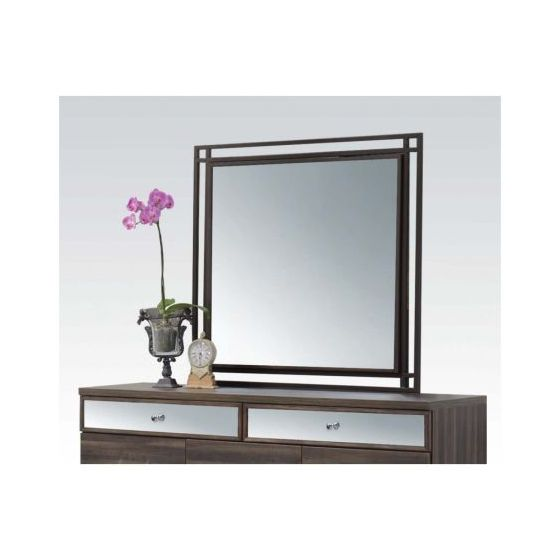 Adrianna Walnut Mirror