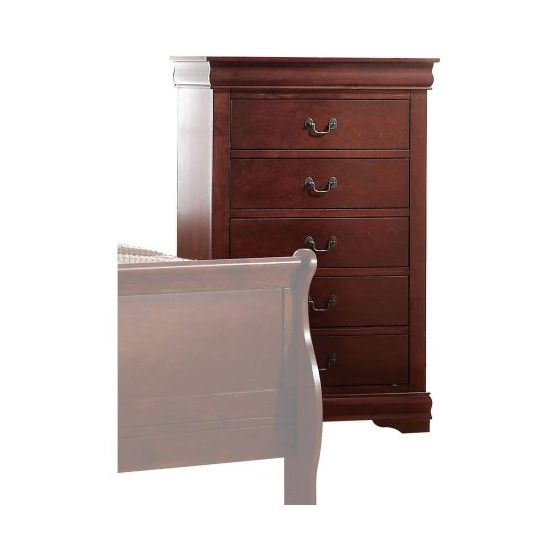 Louis Philippe Chest in Cherry