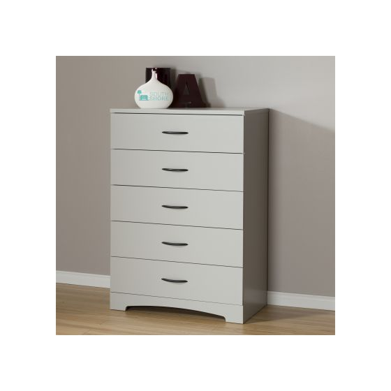 Step One 5-Drawer Chest Soft Gray