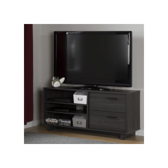 Fynn TV Stand with Drawers for TVs up to 55'' Gray Oak