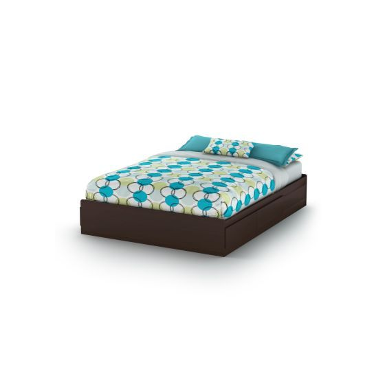 Vito Queen Mates Bed (60'') Chocolate