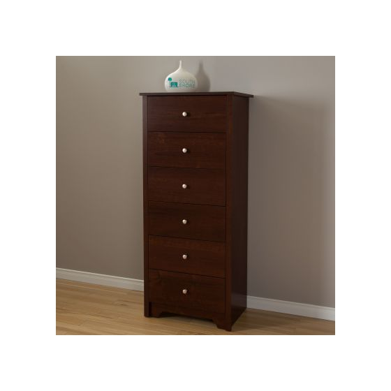 Vito 6-Drawer Chest Sumptuous Cherry