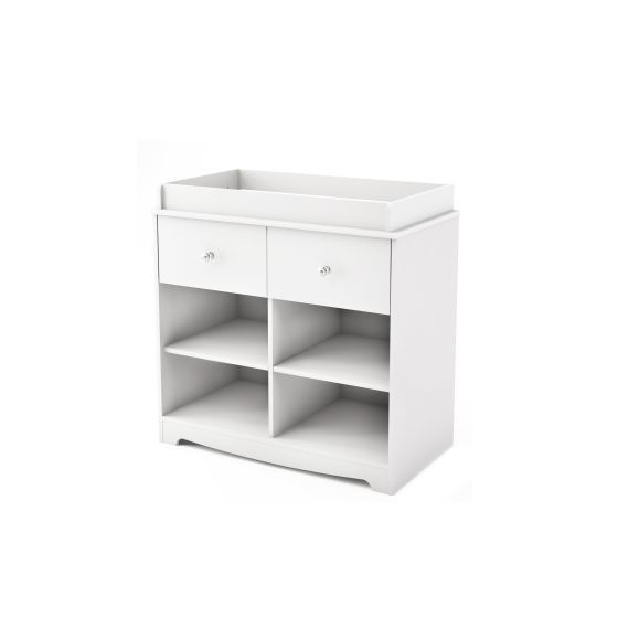 Little Jewel Changing Table Pure White