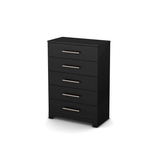 Primo 5-Drawer Chest Pure Black